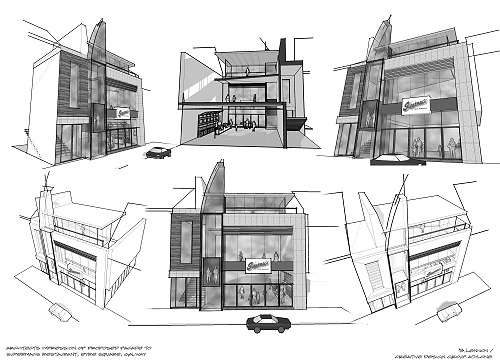 supermacs-eyre-square-sketch-design-galway11 supermac's eyre square re-development architects design