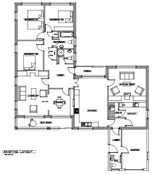 40sq.m architect designed house extension planning exempt
